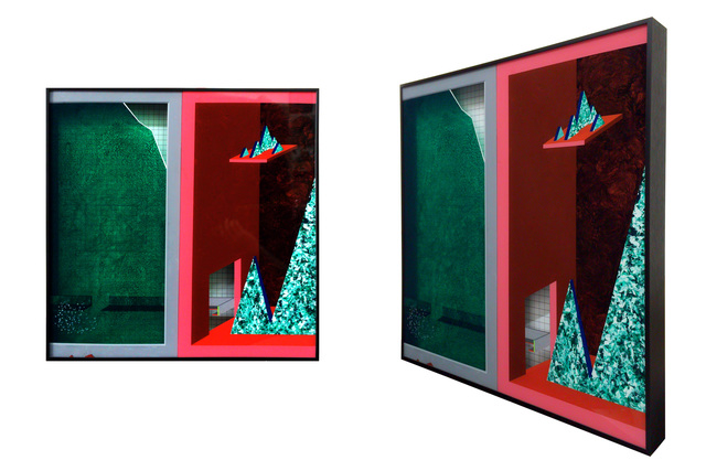 , 'Green glass and red box No.3,' 2015, Galerie Liusa Wang