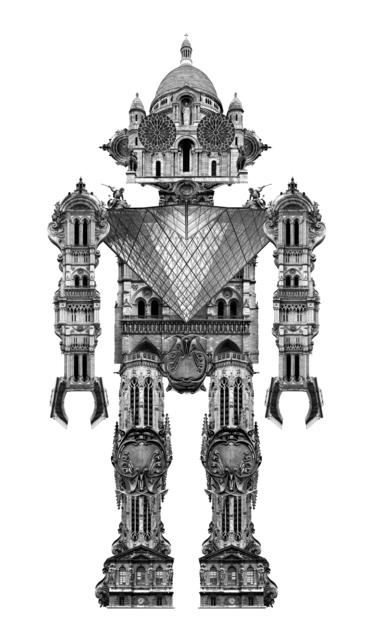 , 'PARIS, GLOBOBOT.PARIS,' 2014, Michele Mariaud Gallery