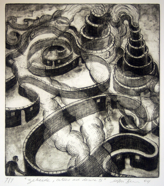 Ron McBurnie, 'Zebeide, Cities of Desire (from Invisable Cities)', 2004, Monsoon Publishing / Ugg Boot Press / Red Rag Press