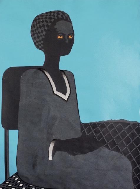 , 'Seated Figure III,' 2016, ARTLabAfrica