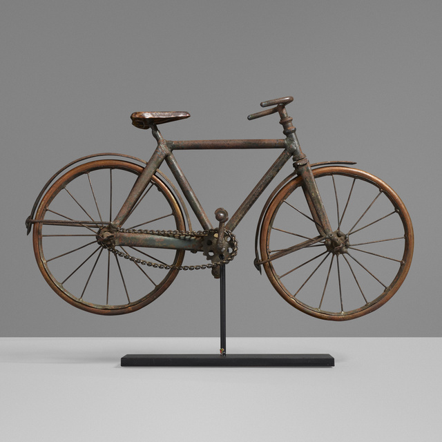 'Salesman sample bicycle', c. 1935, Other, Steel, copper, Rago/Wright