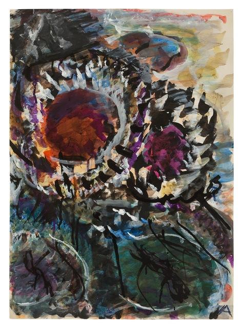 , 'Two Sunflowers,' undated, New York Studio School