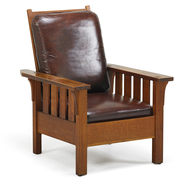 Astonishing Charles Stickley Morris Chair Binghamton Ny Ca 1908 Alphanode Cool Chair Designs And Ideas Alphanodeonline