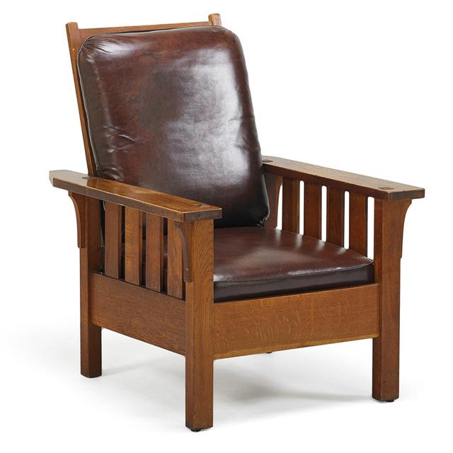 Charles Stickley, 'Morris Chair, Binghamton, NY', ca. 1908, Rago/Wright