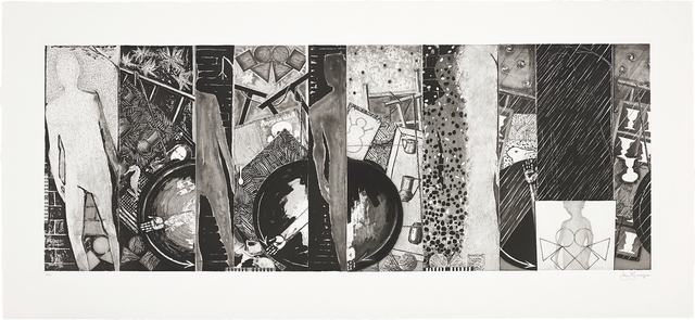 Jasper Johns, 'The Seasons', 1989, Print, Etching and aquatint, on Arches paper, with full margins, Phillips