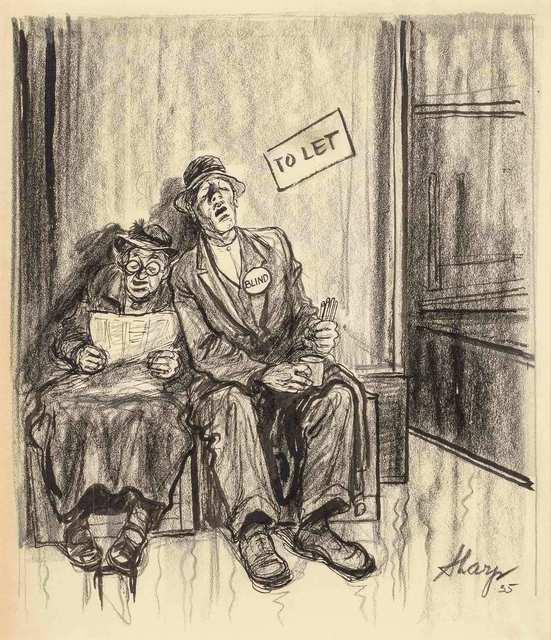 William Sharp, 'To Let', 1935, Doyle