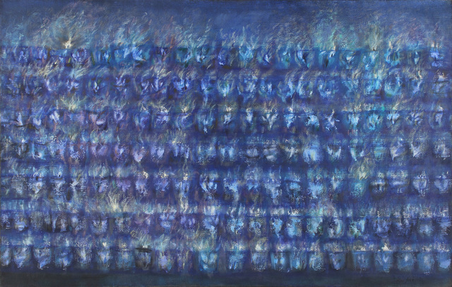 , 'Blue Votive Lights,' 1965, Alexandre Gallery