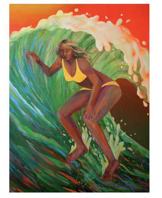 , 'Jesus Lady Surfer,' 2017, HATHAWAY | Contemporary Gallery
