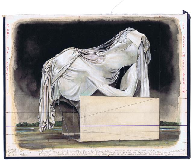 , 'Dans Ma Tête Je Suis Un Sculpteur,' 2017, Geukens & De Vil