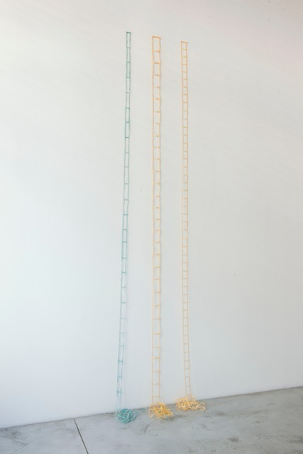 , 'Tarlatane ladders (3 pieces),' 1973, Baronian Xippas