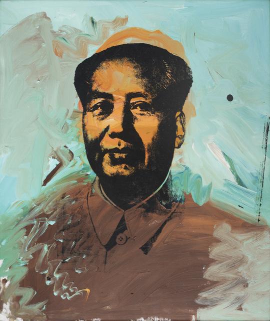 , 'Mao,' 1973, Musée d'Art Moderne de la Ville de Paris