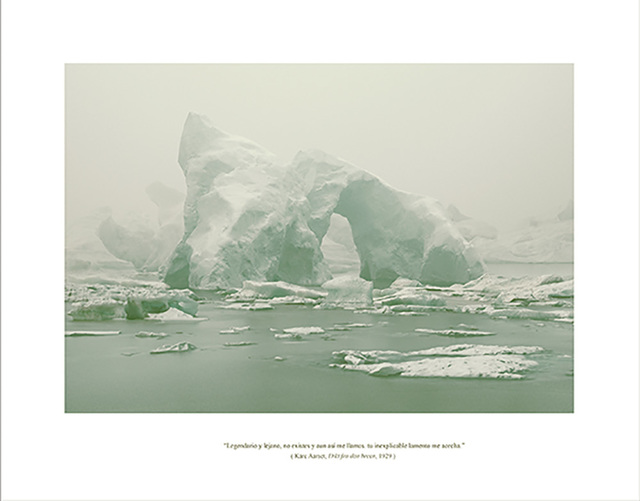 , 'Serie EOLIONIMIA  Iceberg #13,' 2013, Aural
