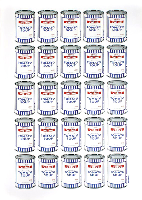 Banksy, 'Soup Cans', 2006, EHC Fine Art: Essential Editions VII