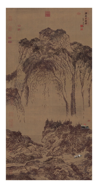 , 'Travelers Among Mountains and Streams 溪山行旅图,' 2015, Art+ Shanghai Gallery