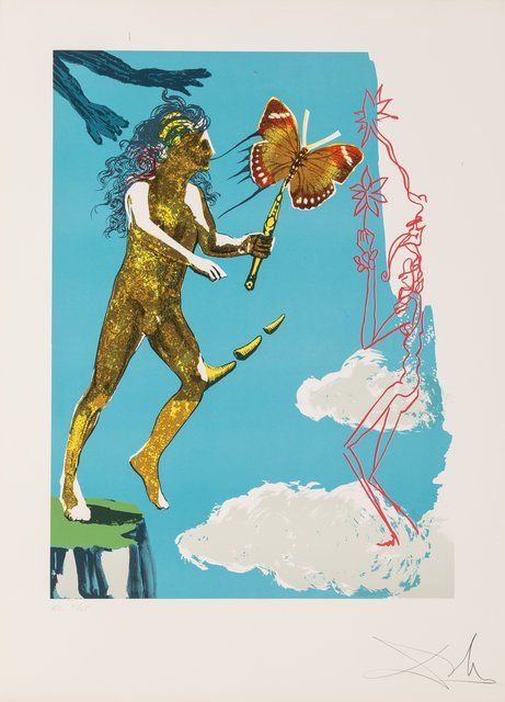 Salvador Dalí, 'Release of the psychic spirit, from Magic butterfly & the dream', 1978, Heritage Auctions