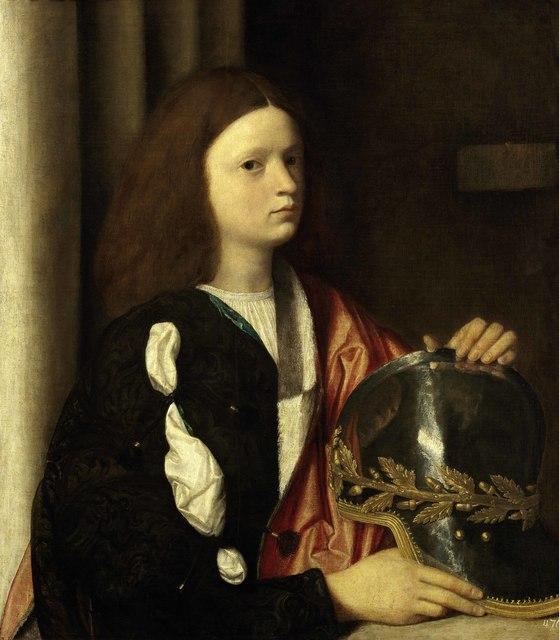 , 'Portrait of Francesco Maria della Rovere,' 1505, Royal Academy of Arts