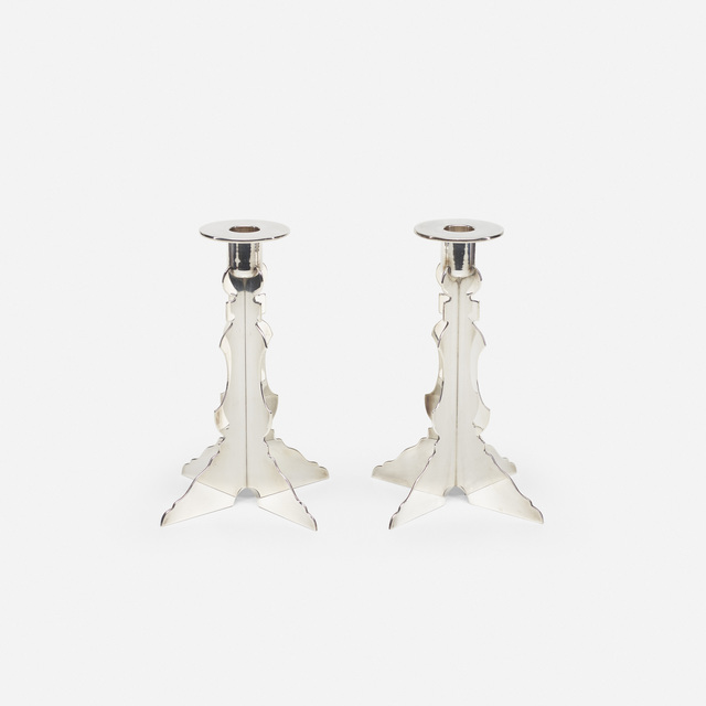 Robert Venturi, 'Candlesticks, pair', 1985-86, Wright