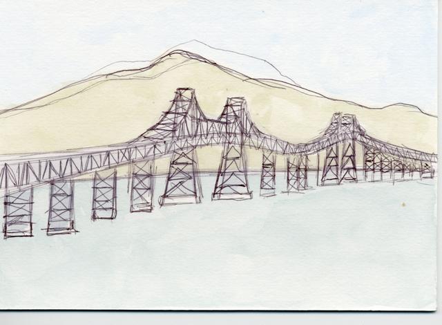 , 'Richmond Bridge Architecture,' 2011, Creativity Explored