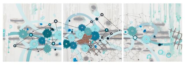 Heather Patterson, 'Range Triptych', 2019, Slate Contemporary