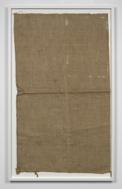 , 'Untitled (Sack #2),' 2013, Simon Lee Gallery