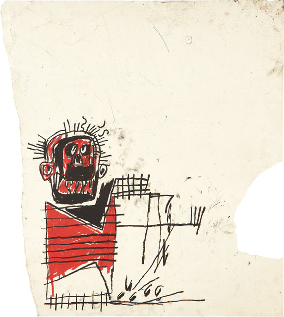 Jean-Michel Basquiat, 'Untitled (Red/Black Figure)', 1982, Phillips