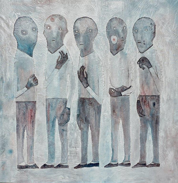 , 'Gental Talk,' 2019, One Off Contemporary Art Gallery