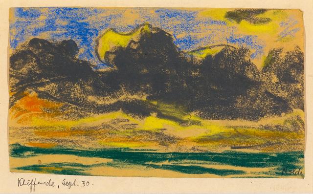 , 'Kliffende, Sylt ,' 1930, Galerie Herold