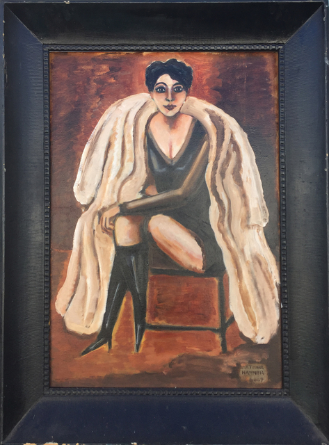 , 'Maggie in Furs,' 2009, Carrie Haddad Gallery