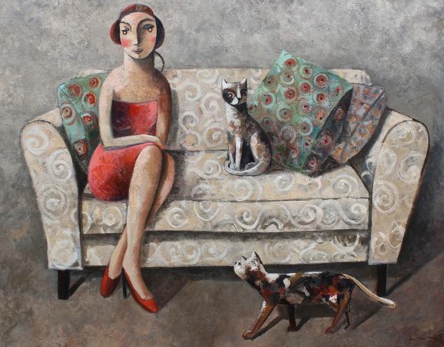 , 'Mia,' 2014, GALERIA JORDI BARNADAS