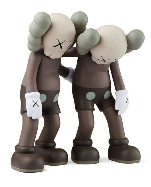 KAWS, 'KAWS Along The Way (KAWS brown companion)', 2019, Sculpture, Vinyl paint, Cast Resin, Lot 180