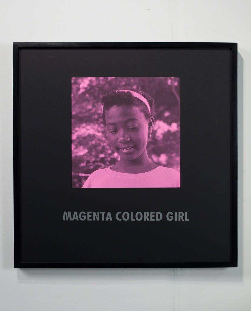 Magenta Colored Girl