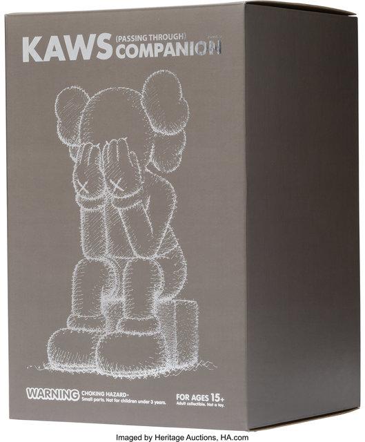 KAWS, 'Passing Through Companion (Brown)', 2013, Sculpture, Painted cast vinyl, Heritage Auctions