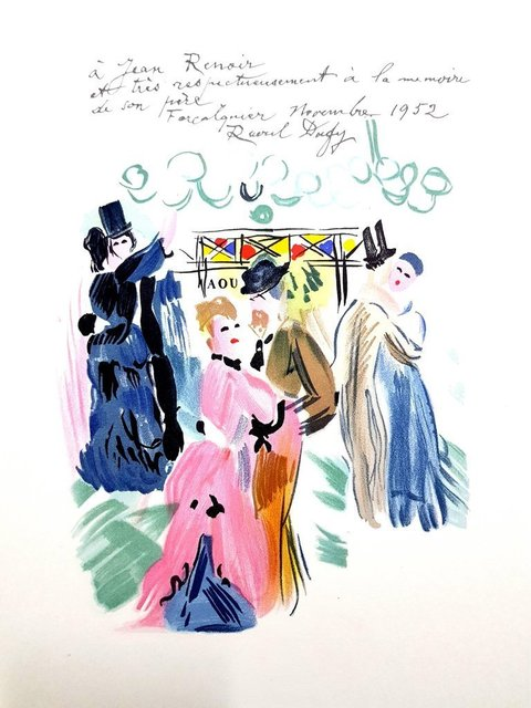 "Raoul Dufy, 'Lithograph ""Homage to Renoir"" after Raoul Dufy', 1965, Galerie Philia"