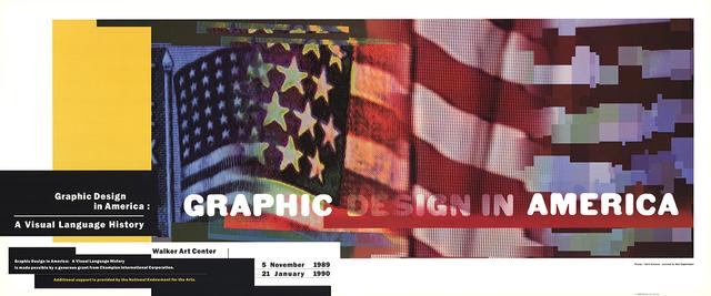 April Greiman, 'Graphic Design in America', 1989, ArtWise