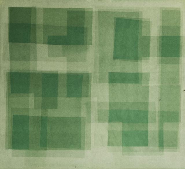 , 'Heliographia. Green,' 2017, Alarcón Criado