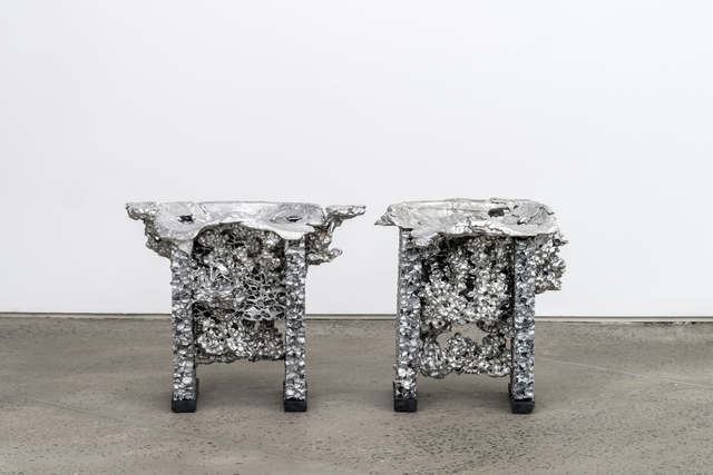 , 'Liquid Metal Stool,' 2017, Chamber