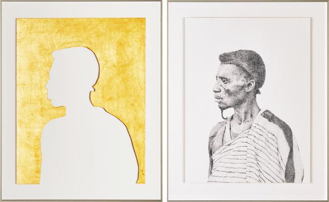 , 'Doppelportrait Meister Kuakudili,' 2018, Galerie du Monde