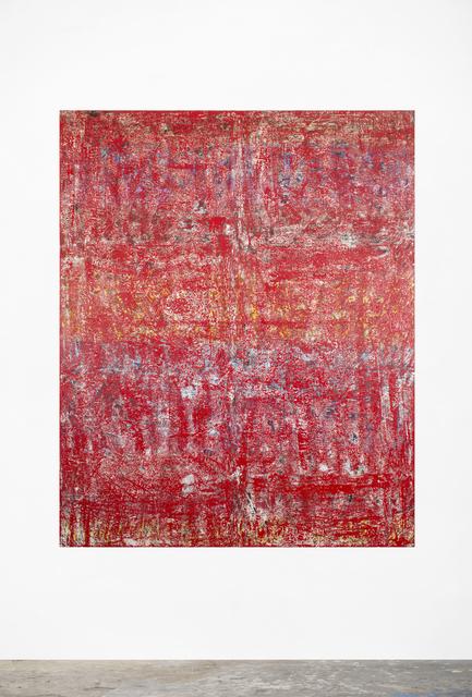, 'Post No Bills (Red),' 2017, The Scottish Gallery