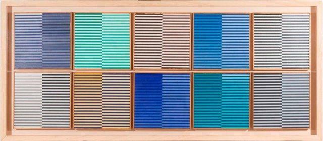 , 'Ricerca del Colore,' 1966-1968, Galleria Spazia