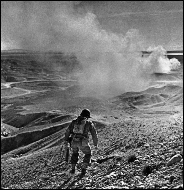 , 'American soldier. El Guettar, Tunisia. ,' 1943, Magnum Photos
