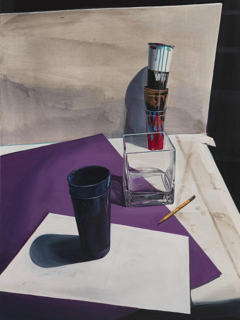 , 'Purples,' 2018, Desta Gallery