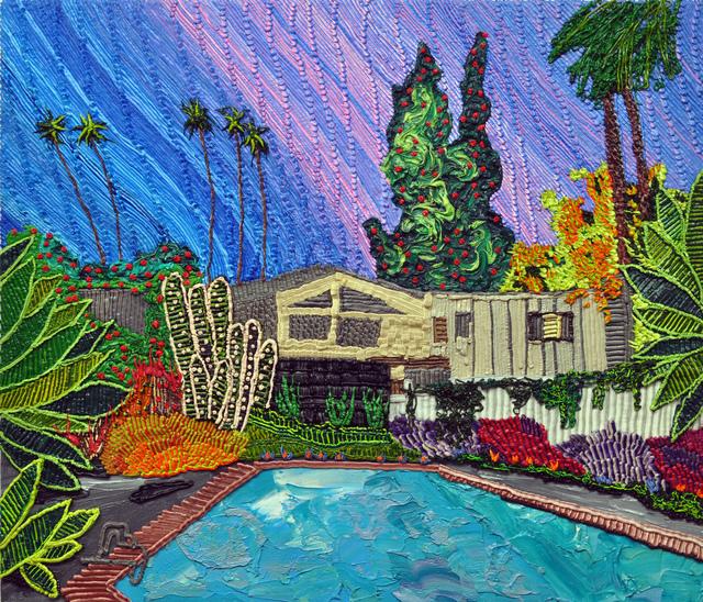 , 'Techocolor California Dream House,' 2017, Craig Krull Gallery