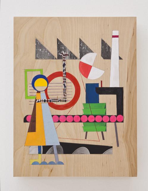 , 'Worker # 1,' 2012, Nina Johnson