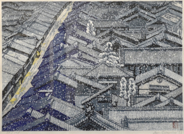 , 'Nishijin in Snow,' 1973, Ronin Gallery