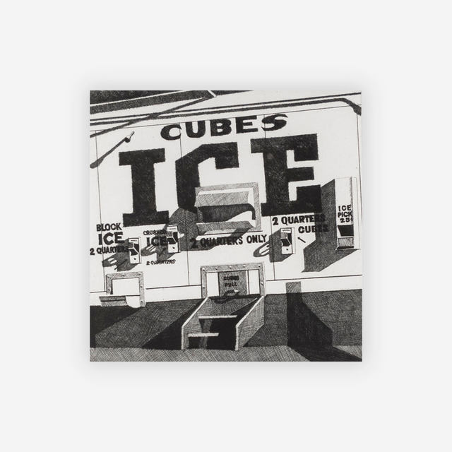 Robert Cottingham, 'Ice', 1975, Capsule Gallery Auction