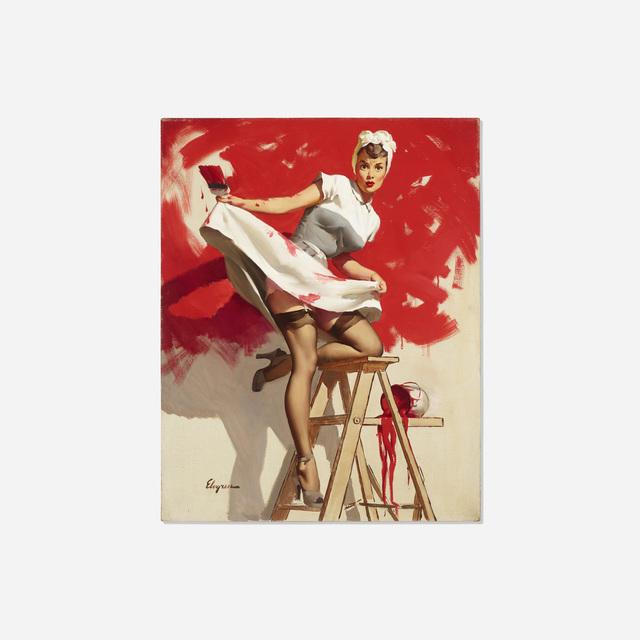 Gil Elvgren, 'In the Red', 1950, Rago/Wright