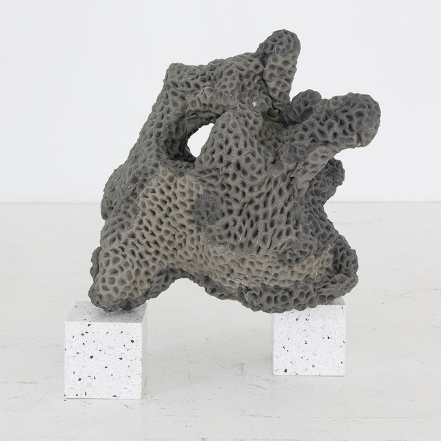 , 'Napalm Stone (volcanic version #1),' 2014, Nina Johnson