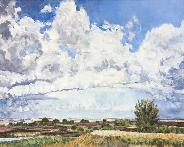 , 'Clouds and Prairie,' 2008, Han Art