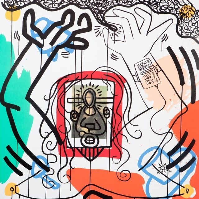 Keith Haring, 'Apocalypse No. 6', 1988, Joseph Fine Art LONDON