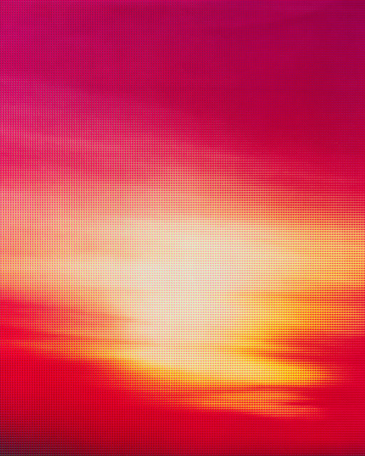 , 'sg_sunset_07,' 2017, Proyecto H Contemporaneo
